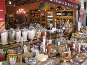 A Spice shop in Nice, France.