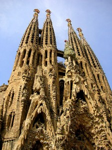 La Sagrada Familia. Photo via Wikimedia by Marek Holub.