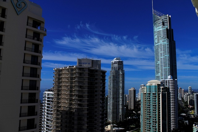 Queensland's Gold Coast Cityscape. This place is beautiful one day, perfect the next.