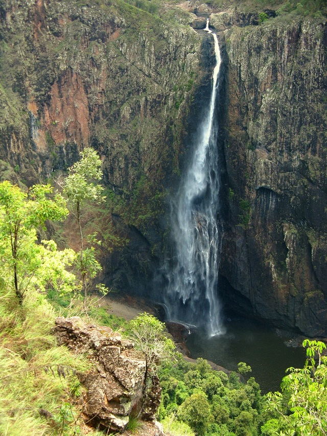 Wallerman Falls-Situated in Tropical Queensland, about an hour and a half north of Townsville.