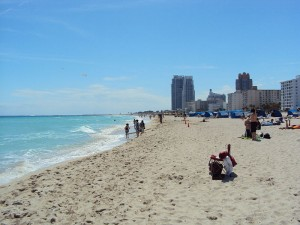 Miami Beach. Photo via Wikimedia Commons by Miranda Paullin.