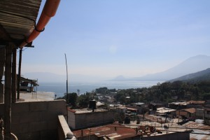 View from my home in Guatemala