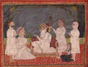 Guru-darshan Deccan, Hyderabad, c.1800. Photo via Wikimedia.