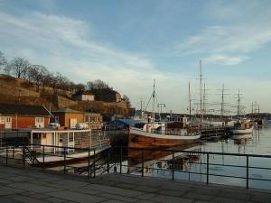 Oslo Harbor. Via Wikimedia by Quistnix.