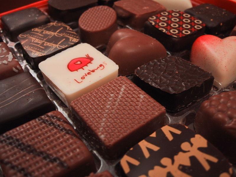 Jacques Torres chocolates. Photo via Wikimedia, by John Hritz.