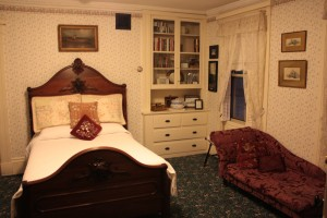 Lizzie's room. Image by Jennifer Billock.