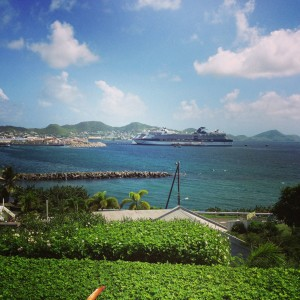Cruise employees have a chance to explore every port. Photo courtesy of Evan Trout.