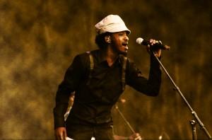 K'Naan performs at Osheaga Festival in Montreal, Québec, Canada, on 31 July 2010. Via Wikimedia by tkaravou.
