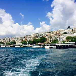 Asian Side of Bosphorus. Photo courtesy of Hannah Yerington.