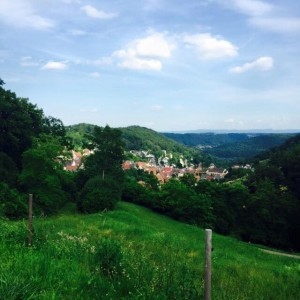 View of Rexingen. Photo courtesy of Hannah Yerington.